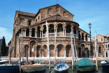 Crociera in motonave di mezza giornata alle isole di Murano e Burano