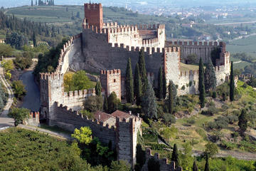 Visita al castillo de Soave y cata de...