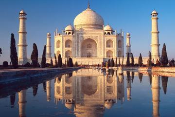 Agra nach New Delhi mit dem Zug, einschließlich Taj Mahal, Fort Agra...