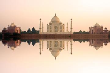 Agra Taj Mahal at Sunrise Day-Tour from Delhi by SUV Car