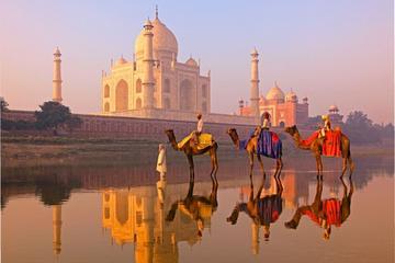 Agra Taj Mahal – Sonnenaufgangs- und Sonnenuntergangs-Tour