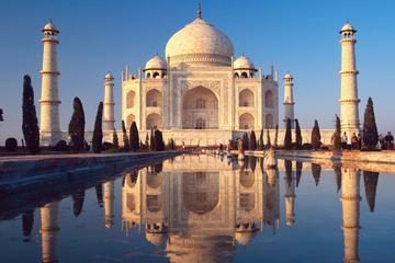 Agra to Delhi by Train with the Taj...
