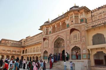 Excursión privada: Jaipur desde Delhi incluyendo Jai Mandir