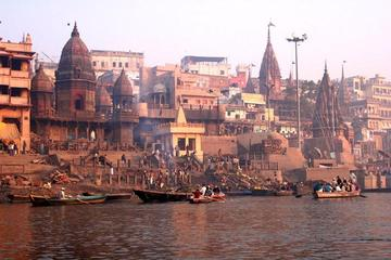 Full-Day Private Varanasi and Sarnath Tour including Ganges Boat...