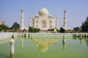 Golden Triangle 2-Day Luxury Tour from Delhi to Agra and Jaipur by Train