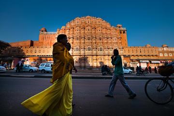 Tour de 1 día al Triángulo Dorado, a Agra y Jaipur en coche desde...