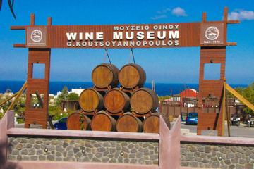 Excursão vinícola no Museu do Vinho de Vinhos Koutsoyannopoulos