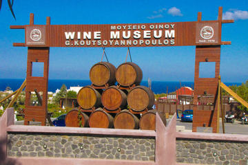 Santorini Koutsoyannopoulos Wine Museum Tour with Wine Tastings