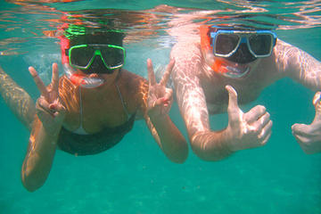 Glass-Bottom Boat Ride and Snorkel Tour