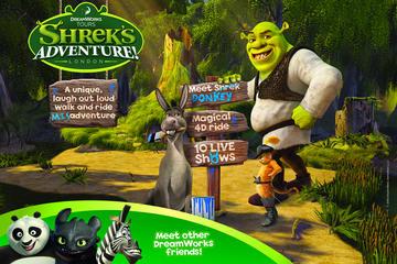 Shrek's Adventure! London, toegangsbewijs