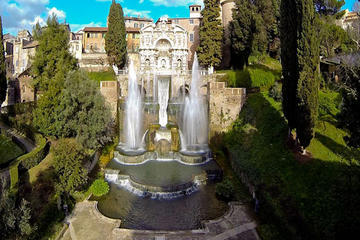 Full-Day Private Shore Excursion: Tivoli Gardens with Wine Tasting from Civitavecchia