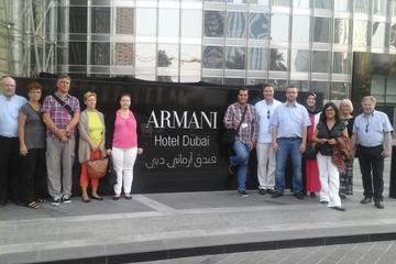 1 Tag Dubai Abendessen im Armani Hotel und Burj Khalifa-Eintrittskarte