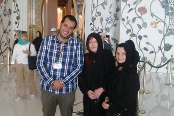 Excursion d'une journée d'Abu Dhabi...