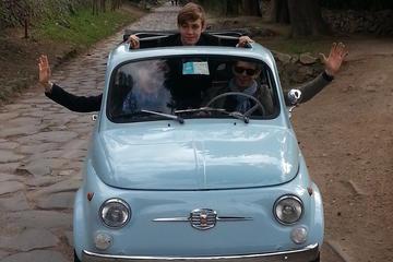 Classic Fiat 500 Rental in Rome