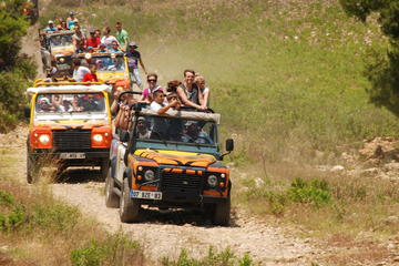 2 in1 Jeep Safari and White Water Rafting From Antalya