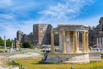 Ancient cities of Side and Aspendos...