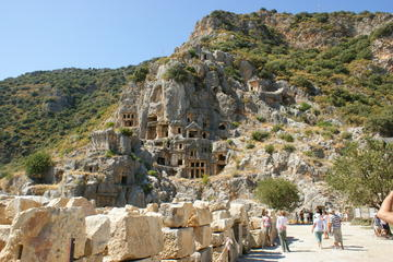 Ancient City of St Nicholas and cruise to sunken Kekova Island