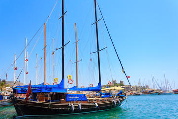 Blue cruise around Bodrum bays