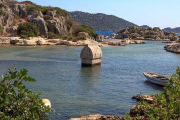 St Nicholas Treasures and Cruise to Sunken Kekova Island From Belek