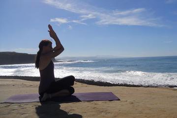 6 noites de surfe e yoga na costa central a partir de Lisboa
