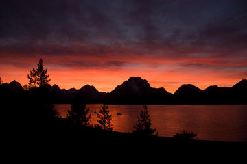 Day Trip Grand Teton Sunset Tour near Jackson, Wyoming