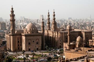 Tour privato: le attrazioni del Cairo con viaggio in aereo da Luxor