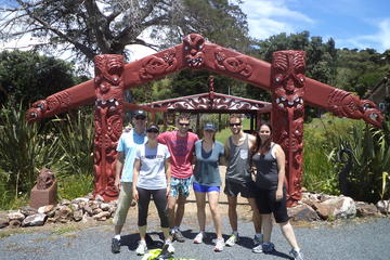 Walking and Biking Tour on Waiheke...