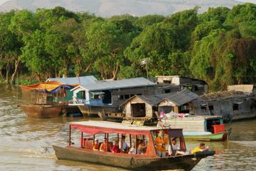 Kompong Khleang Floating Village from...