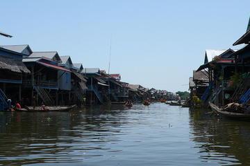 Tagesausflug im überfluteten Wald von Siem Reap