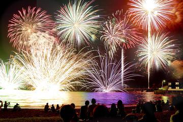 Fireworks Show including Kaiseki Dinner in Kisarazu
