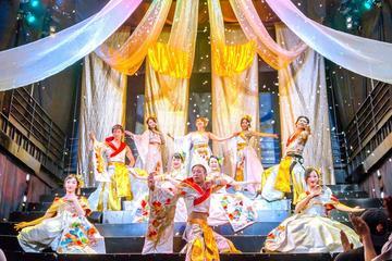 Oiran-föreställning på teatern Roppongi Kaguwa