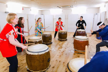 Private Japanese Taiko Drum Lessons...