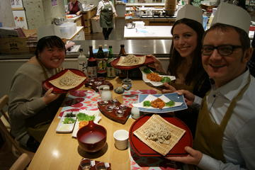 Soba Noodle Making Experience in Tokyo