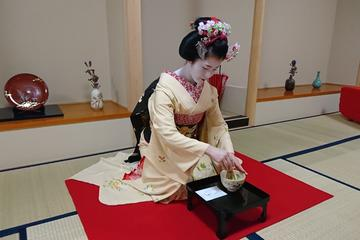 Tea Ceremony with Experienced Maiko in Kyoto