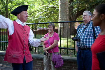 Day Trip Franklin's Footsteps Walking Tour near Philadelphia, Pennsylvania