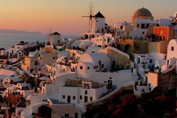 Santorini Oia Sunset and Fira By Night Half Day Tour