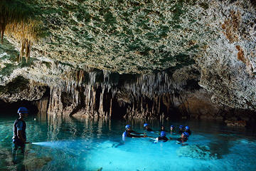 Rio Secreto Plus Admission Ticket with Transport