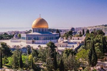 Private Tour: Old City Jerusalem with  Rampart Walk and Western Wall  and New City Walking Tour
