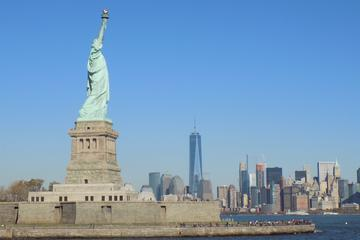 Statue of Liberty and One World Observatory