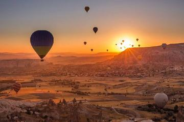 Full-Day Cappadocia Tour with Sunrise Hot Air Balloon Ride