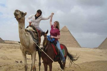 Private Guided Day Tour: Giza Pyramids, Egyptian Museum and Nile...