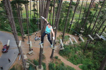 Adrenaline Forest Obstacle Course in...