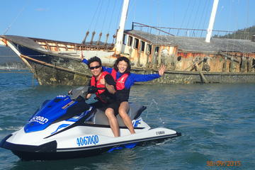 Single or Twin Airlie Beach Jet Ski Tour Including Pioneer Bay