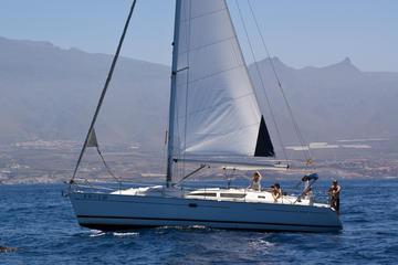 Sortie de 3heures en voilier à Tenerife avec baignade et repas à bord