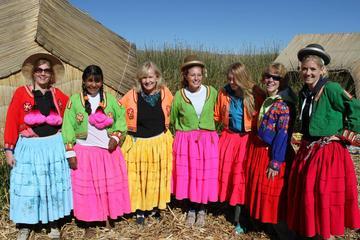 Experiencia cultural y estancia en casa de 4 días en el lago Titicaca...