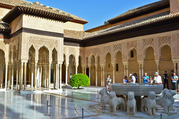 Skip the line: Alhambra Palace and Generalife Gardens Self-Guided Tour