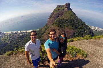 Excursão de caminhada da Pedra Bonita no Parque Nacional da Tijuca