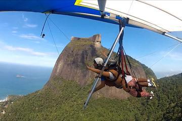 Voo com asa-delta no Rio de Janeiro