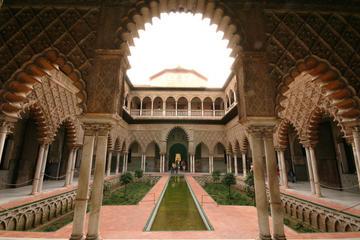 Billet coupe-file: visite guidée de l'Alcazar à Séville