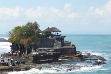Mengwi temple, Monkey forest and Tanah lot temple afternoon tour